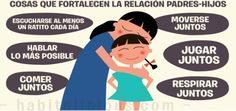 Cosas que fortalecen la relacion Padres-Hijos Portada
