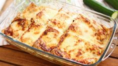 CRESPELLE CON ZUCCHINE E RICOTTA Baked Pancakes, Pancakes And Waffles, Beignets, Crepes, New Recipes, Vegetarian Recipes, Pasta Plus, Non Stick Pan, Italian Dishes