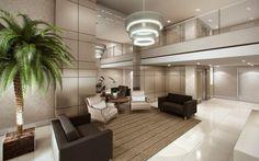 Condominio Residencial - Predio - Edificio - Hall-de-Entrada-site