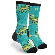 Fun Socks, Crazy Socks, Comfy School Outfits, Cool Outfits, Hawaiian Baby, Boys Vans, Thing 1, Baby Turtles, Kawaii Clothes