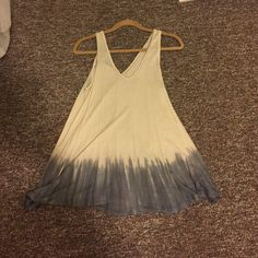 Free People tunic Can be worn as a dress or with pants underneath! Very cute and soft. Free People Tops Tunics