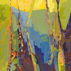 "Linville Falls by Dru Scott Warmath Acrylic ~ 30"" x 30"""
