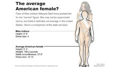 average woman's body