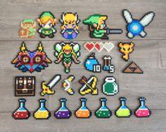 Zelda Hama perles collier porte-clé Collection