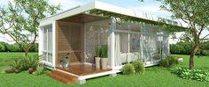 plantas casa de container - Pesquisa Google