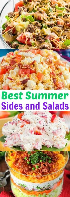 Best Summer Side Dishes and Salad Recipes!