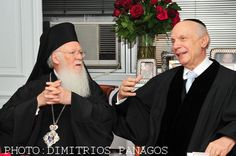 Ecumenical Patriarch Bartholomew visits Park East Synagogue in NYC, Appeal of Conscience Foundation, Rabbi Arthur Schneier