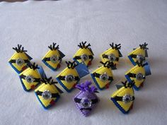 Minion Handmade Party Favor/Ornament/ Gift Tag by CraftTGram