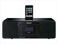 Sangean DDR-63 : WiFi Internet Radio / FM-RBDS / Aux-in / CD / USB / SD All-in-OneTabletop Wooden Cabinet Musical System Compatible with iPod  This does everything related to music playback.