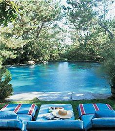 Ralph Lauren's Natural pool