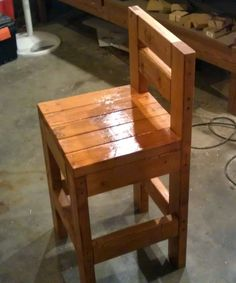 Awesome Traditional Varnished Oak Wood Chair Night Stand ideas