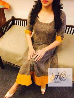 Classy and elegant Salwar Designs, Kurti Neck Designs, Kurta Designs Women, Kurti Designs Party Wear, Blouse Designs, Salwar Pattern, Kurta Patterns, Stylish Dresses For Girls, Stylish Dress Designs