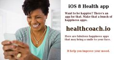 That Can Make You Happy Get it here healthcoach. Best Health Apps, Health And Fitness Apps, Improve Yourself, Make It Yourself, Ios 8, Are You Happy, Mood
