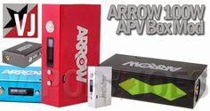 Vapor Joes - Daily Vaping Deals: 50 CENTS A WATT:  THE ARROW 100W BOX MOD - $58.66