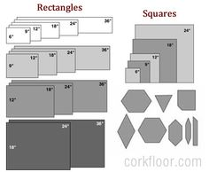 Kitchen Floors {How I Decided to Use Cork Tiles} - Pretty Handy Girl Linoleum Flooring, Cork Flooring, Basement Flooring, Kitchen Flooring, Floors, Flooring Ideas, Cork Tiles, I Decided, Floor Plans