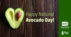 On National Avocado Day, enjoy this delicious heart healthy recipe from the DASH Eating Plan that uses the nutrient-dense fruit (yes, it is a fruit)! Dash Eating Plan, Eating Plans, Heart Healthy Recipes, Avocado Recipes, Taste Buds, How To Stay Healthy, Cobb Salad, Brunch, Healthy Eating