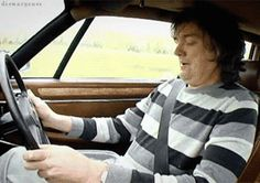 James May getting wet while driving #TopGear