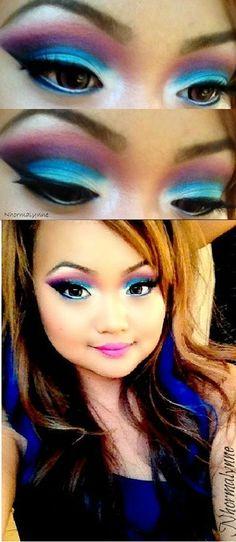 Disney makeup  (cute cute cute cute)