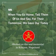 Remarkable quotes by Indian Army that will make you feel Proud - The Incredible India Indian Army Quotes, Military Quotes, Indian Culture Quotes, Military Man, War Quotes, Life Quotes, Famous Quotes, Qoutes, Indian Army Special Forces
