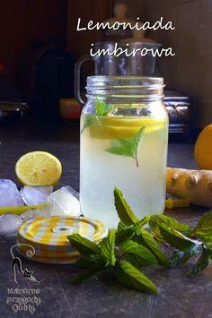 Lemoniada imbirowa | Kulinarne przygody Gatity - przepisy pełne smaku