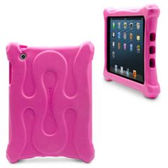 A case shouldn't be this fun; but it is. The swurve iPad mini case combines durable protection with a lightweight design. Constructed from a special, non-toxic foam that provides shock absorption and impact resistance, the swurve child-proofs your Apple iPad mini from the kid in all of us.