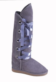 Love From Australia Nomad Tall Party Grey  Back this Winter due to popular demand, the Nomad with Crystal eyelets and Satin Ribbon ties, has be  http://www.comparestoreprices.co.uk/womens-shoes/love-from-australia-nomad-tall-party-grey.asp