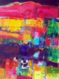 Francis Boag, Creag Ruadh, Mixed Media| Scottish Contemporary Art