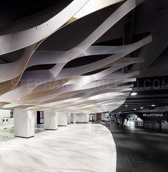 Photos de la Place des Arts de Montréal | Stephane Groleau, photographe d'architecture - Architectural photographer