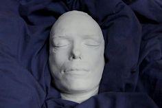 The death mask of artist Sebastian Horsley Life And Death, Underworld, Appreciation, Artists, Times, Dark, Style, Crystals, Swag