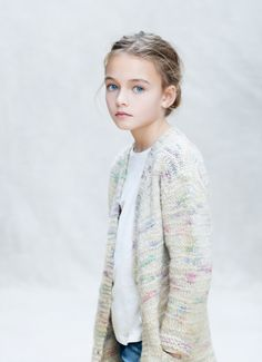 This multicolor threads cardigan is so lovely