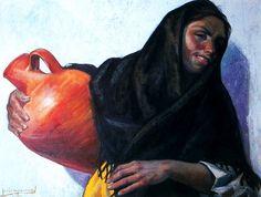Jesús De Perceval  mujer del cantaro