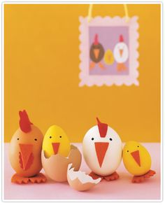 cheeky chicken easter eggs.