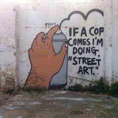 I'm doing Street Art
