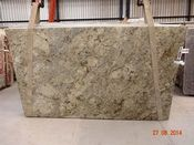 Hawaii Granite is beautifully unusual with it's cream, black, grey, and gold colors.