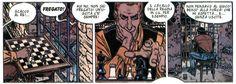 """Splendida striscia tratta da """"Geronimo l'Apache"""", ventiseiesima avventura della celebre saga a fumetti Blueberry #Chess #Scacchi #Blueberry"""