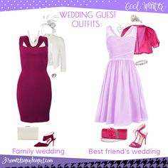 Wedding guest outfit ideas for Cool Winter women by 30somethingurbangirl.com // Are you invited to a family or your best friend's wedding? Find pretty outfit ideas and look fabulous!