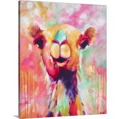 Great Big Canvas Hanna' by Amira Rahim Painting on Wrapped Canvas
