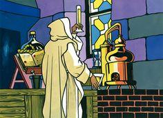 L'apothicaire de la Grande-Chartreuse, Frère Jérôme Maubec, est chargé de cette tâche. Il parvient à fixer définitivement la formule de ce qui devient l'Elixir Végétal de la Grande-Chartreuse.