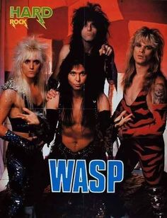 Johnny Rod/Blackie Lawless/Chris Holmes/Steve Riley Heavy Metal Rock, Heavy Metal Music, Heavy Metal Bands, Goth Music, My Music, Rock & Pop, Rock And Roll, Hard Rock, 80s Rock Fashion