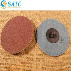 Flexible round sanding disc for floor