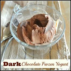 ... | Frozen yogurt, Frozen greek yogurt and Vanilla frozen yogurt