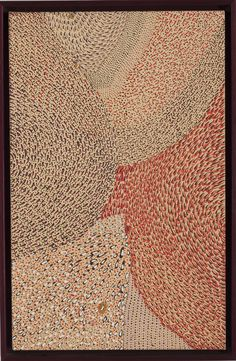 Major Exhibition of Australian Aboriginal Art to Tour US Museums || Janangoo Butcher Cherel Floodwater, 1993