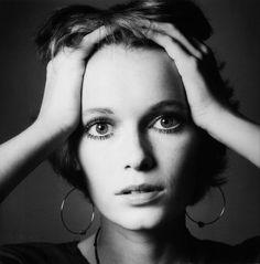 Mia Farrow, 1968  by Jeanloup Sieff