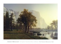 El Capitan, Yosemite Valley, California, 1875 Fine-Art Print by Albert Bierstadt at UrbanLoftArt.com