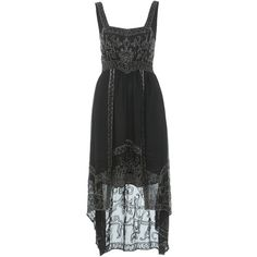 Miss Selfridge INSPIRED BY Black Bead Dress
