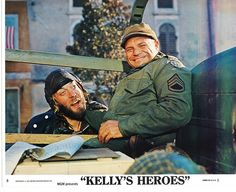 images of kellys heros | Kelly's Heroes | Kelly's Heroes..Donald Sutherland as Oddbal ...