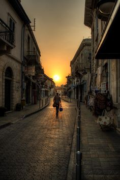 Limassol old town, Cyprus