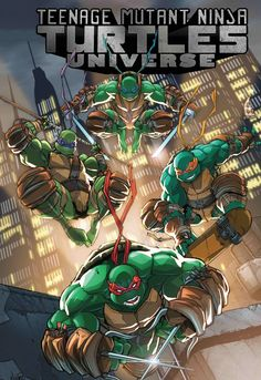 Teenage Mutant Ninja Turtles Universe - Eddie Nunez