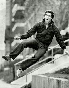 Jim Carrey at age 19, 1981.