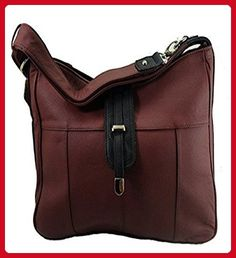 Concealed Carry Gun Purse Shoulder/Crossbody Left/Right Hand CCW Wine - Wallets (*Amazon Partner-Link)
